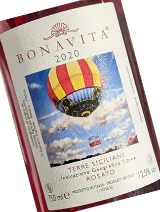 Bonavita 2020 Rosato, Terre Siciliane IGP