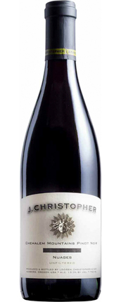 J. Christopher 2015 'Nuages' Pinot Noir, Chehalem Mountains