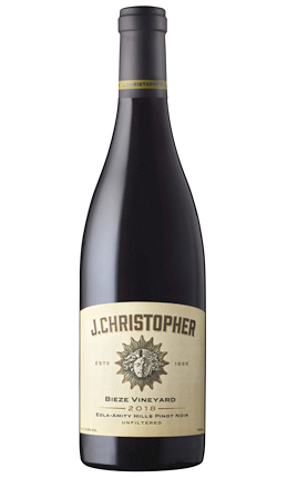 J. Christopher 2018 Pinot Noir, Bieze Vineyard, Eola-Amity Hills