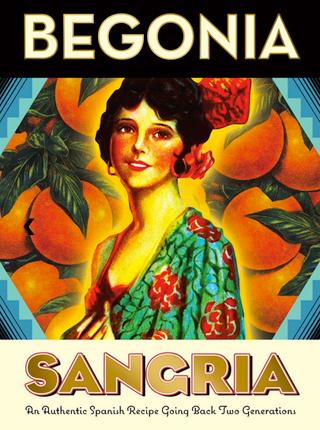 Begonia (20 L) NV Sangria Tinta, Spain (Keg)