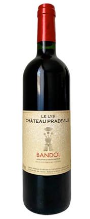Chateau Pradeaux 2016 'Le Lys' Bandol Rouge AOC