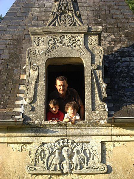 Gonzague and his children