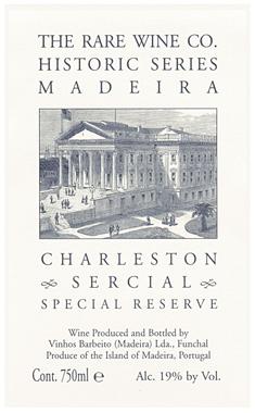 RWC Historic Series 'Charleston' Sercial, Madeira DOC