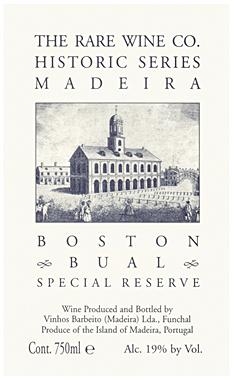RWC Historic Series 'Boston' Bual, Madeira DOC