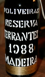 D'Oliveira 1988 Terrantez, Madeira DOC