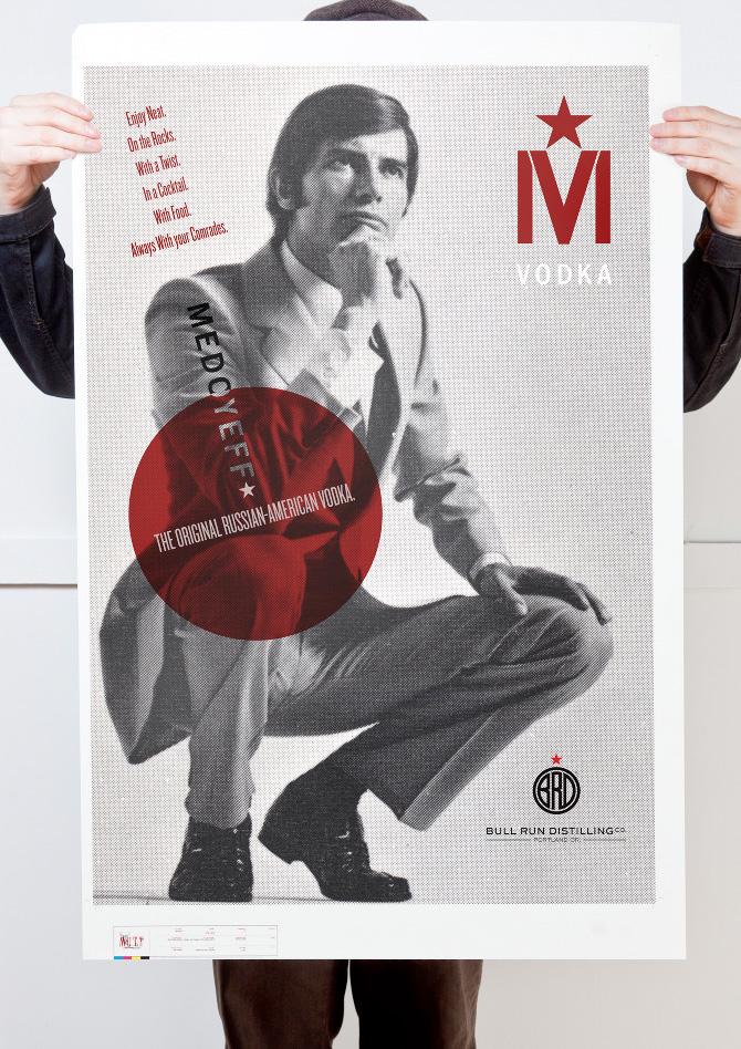 Medoyeff Vodka Poster