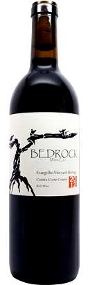 Bedrock Wine Co. 2017 Heritage Red, Evangelho Vineyard, Contra Costa County