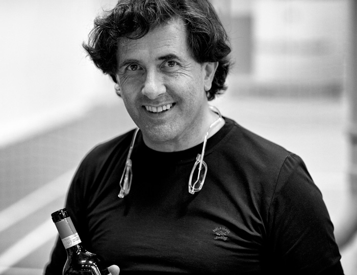 Giampiero Bea, Son of Paolo Bea (photo by Thomas Iversen from http://madwine.blogspot.com)