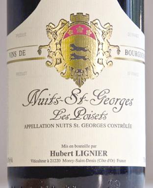 Domaine Hubert Lignier (1.5 L) 2014 Nuits-St-Georges, Les Poisets, AOC