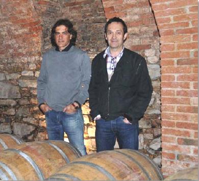 Paolo Dania and Dino Riccomagno