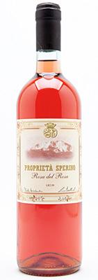 Proprieta' Sperino 2018 'Rosa del Rosa' Rosato, Piedmont DOC