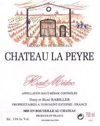 Chateau La Peyre 2014 Haut-Medoc AOC