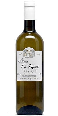 Chateau La Rame 2018 Bordeaux Blanc Sec AOC