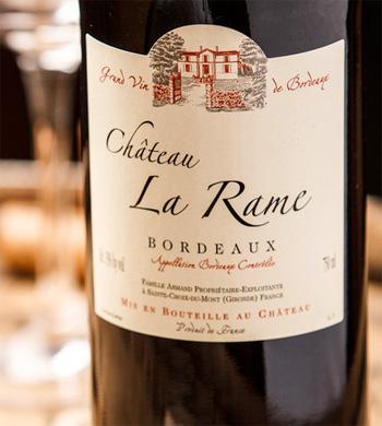 Chateau La Rame 2016 Bordeaux Rouge AOC