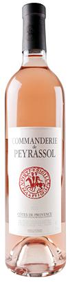 Peyrassol 2016 'Commanderie de Peyrassol' Cotes de Provence Rose AOC