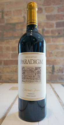 Paradigm Winery 2016 Cabernet Franc, Oakville