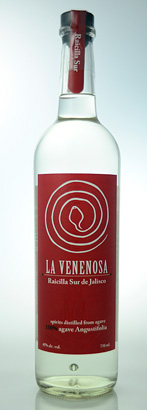 La Venenosa Raicilla Angustifolio (Red Label), Sur de Jalisco (94 proof)