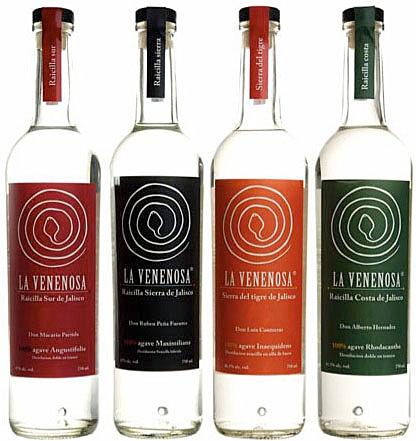 La Venenosa Raicilla Bottles