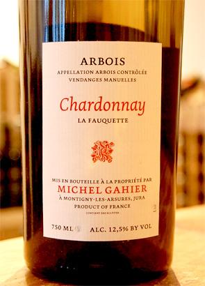 Michel Gahier 2016 Chardonnay, Les Fauquettes, Arbois AOC