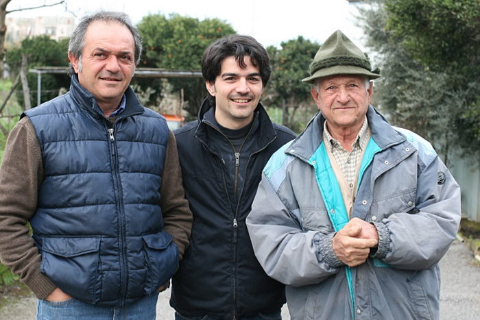 Three Generations of the Di Meo family