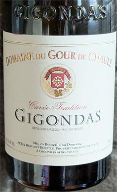 Domaine du Gour de Chaule 2017 'Cuvee Tradition' Gigondas AOC
