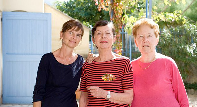 Three Generations of Owners: Madame Rolande Beaumet, Aline Bonfils and Stephanie Fumoso
