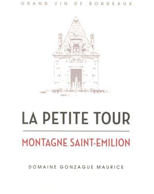 La Petite Tour 2012 Montagne Saint-Emilion AOC (fka Grandchamp)