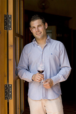 Diego Magaña, Owner, Winemaker and Vineyard Manager (photo credit: Friederike Paetzold)