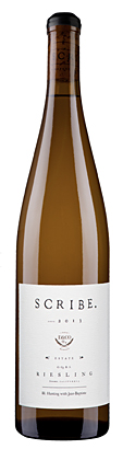 Scribe Winery 2017 Estate Riesling, Sonoma Coast