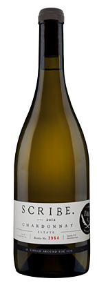 Scribe Winery 2016 Estate Chardonnay, Sonoma Coast