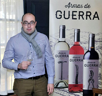 Pablo Franco, Winemaker and Technical Director for Armas de Guerra