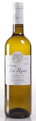 Chateau La Rame 2015 Bordeaux Blanc Sec AOC