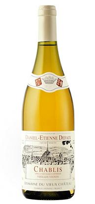 Daniel-Etienne Defaix 2017 Chablis Vieilles Vignes AOC