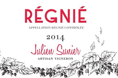 Julien Sunier 2017 Regnie AOC