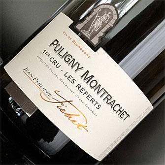 Jean-Philippe Fichet 2016 Puligny Montrachet 1er Cru, Les Referts, AOC