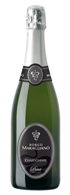 Borgo Maragliano NV Chardonnay Sparkling Brut, Asti DOCG