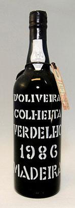 D'Oliveira 1986 Verdelho, Madeira DOC