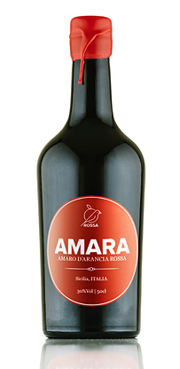 Rossa Sicily Amara, Amaro d'Arancia Rossa (Blood Orange Liqueur) (60 proof)