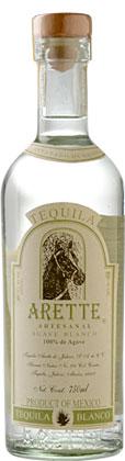 Tequila Arette 'Artesanal' (Suave) Blanco (80 proof)