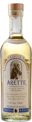 Tequila Arette 'Artesanal' (Suave) Anejo (80 proof)