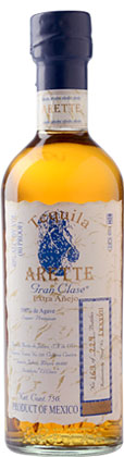 Tequila Arette 'Gran Clase' Extra Anejo (80 proof)