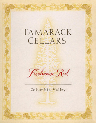 Tamarack Cellars 2015 'Firehouse Red' Columbia Valley