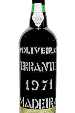 D'Oliveira 1971 Terrantez, Madeira DOC