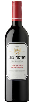 Lexington Wine Co. 2013 Cabernet Sauvignon, Santa Cruz Mountains