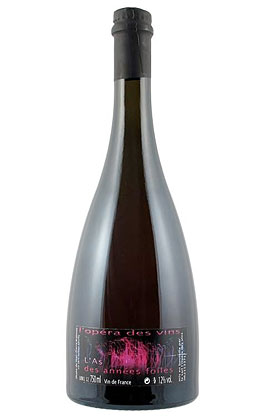 Jean-Pierre Robinot 2015 L'Opera Vin 'L'As des Annees Folles' Petillant Naturel, Vin de France (Loire)