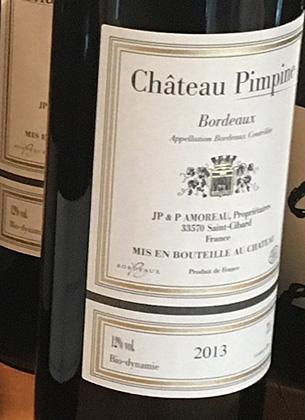 Chateau Pimpine 2013 Bordeaux AOC