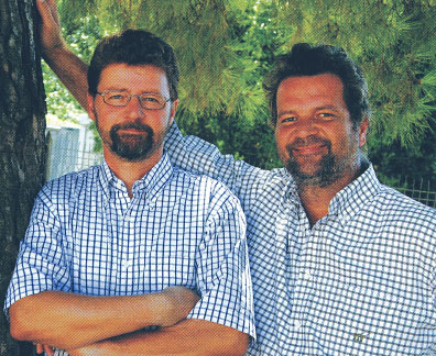 Brothers Umberto and Giuseppe Zanconte