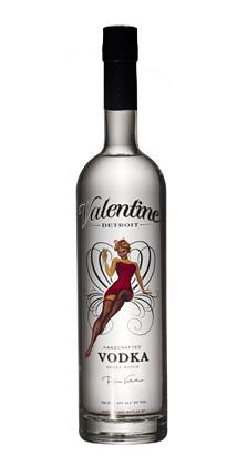 Valentine Detroit Distilling Co. Vodka (80 proof)