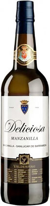 Bodegas Valdespino (375 ml) 'Deliciosa' Manzanilla Sherry, Sanlucar de Barrameda DO