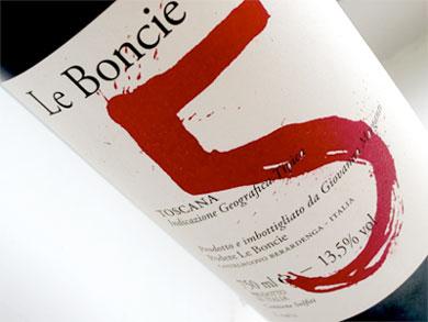 Podere Le Boncie 2016 'Cinque' Rosso di Toscana IGT